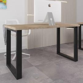 Стол письменный Спот Оверхед 160 см коричневый Металл Дизайн