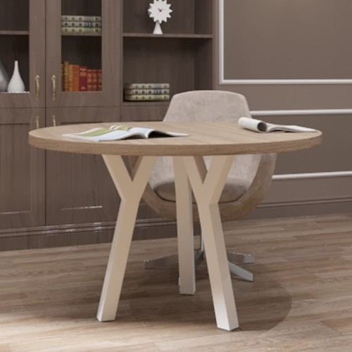 Стол обеденный Уно-3 белый Металл Дизайн