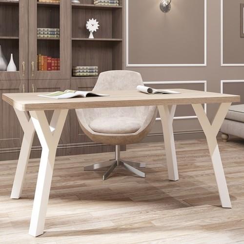 Стол письменный Уно-4 80см белый Металл Дизайн