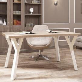 Стол письменный Уно-4 120см белый Металл Дизайн
