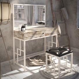 Стол туалетный Арден белый Tenero