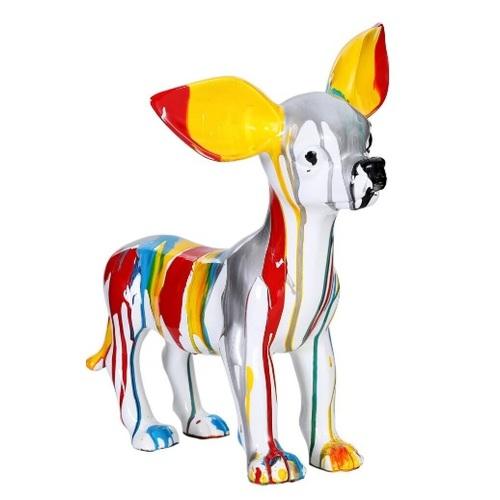 Статуэтка Chihuahua 120 W78T6 цветная Kayoom
