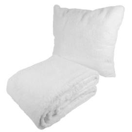 Набор подушка+плед Aimee 525 WBZX7-WHT белый Kayoom