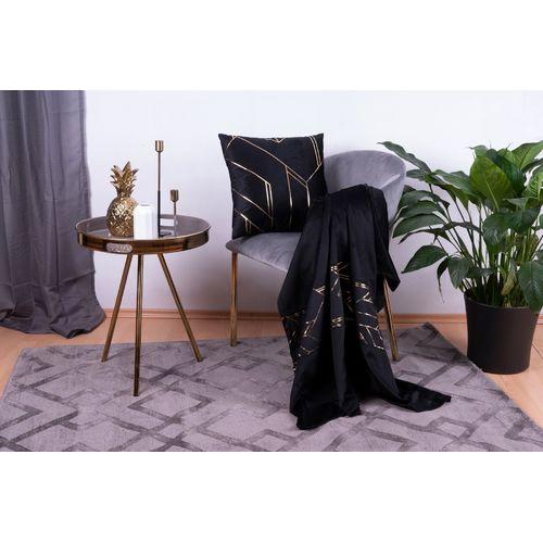 Набор подушка+плед Prisma1945-01 черный Kayoom