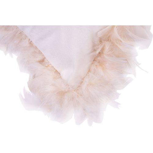 Набор подушка+плед Palmira 125 HWXT1-WHT белый Kayoom