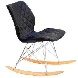 Кресло качалка NOLAN 11057 черный Thexata Summer