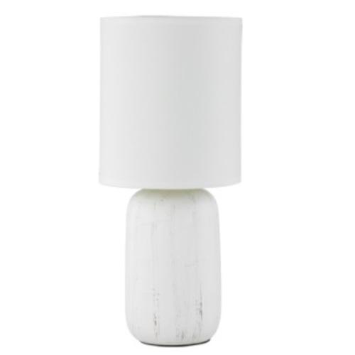 Лампа настольная CLAY – R50411001 белый Trio
