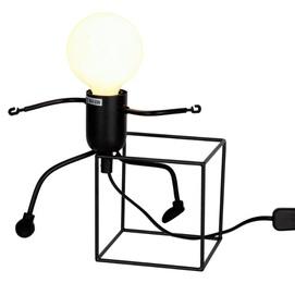 Лампа настольная 720T26016-W12 BK черный Thexata 2020
