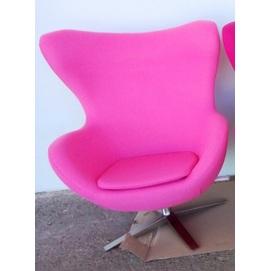 Кресло Egg ткань светло-розовый Primel