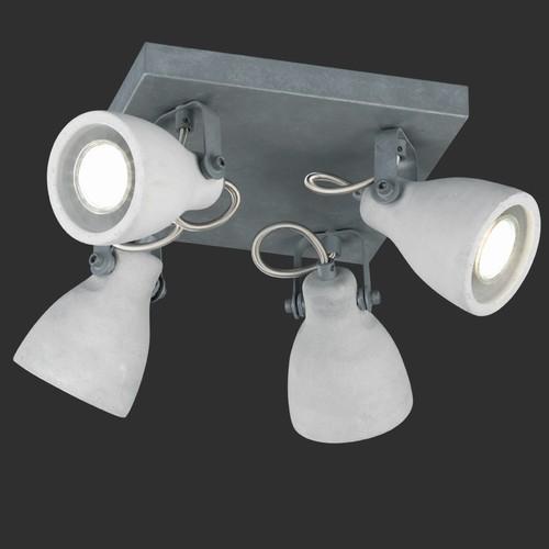 Спот CONCRETE – 802530478 серый бетон Trio