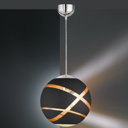 Лампа подвесная  FARO – 306100132 черный Trio