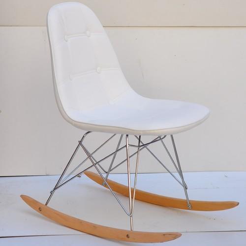 Кресло качалка Alex 9317 белый Thexata