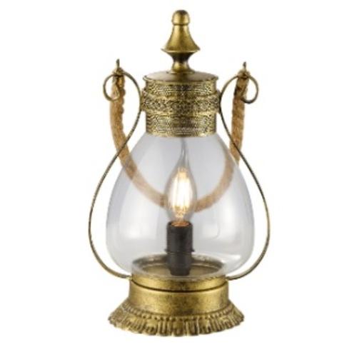 Лампа настольная LINDA – 503500104 бронзовый Trio