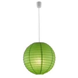 Лампа подвесная PAPER – 3490400-15 зеленый Trio