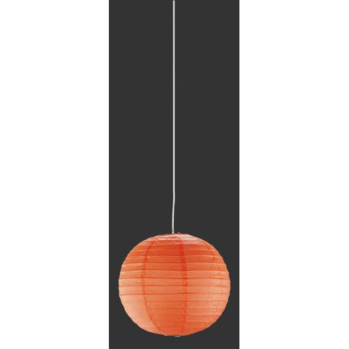Лампа подвесная PAPER – 3490400-18 оранжевый Trio