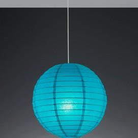 Лампа подвесная PAPER – 3490400-19 голубой Trio