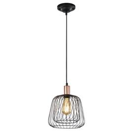 Лампа подвесная  SANNA – 300900102 черный Trio