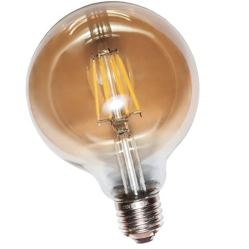 Лампочка COW лампа LED G95 6W Amber 2300K E27 RC Thexata