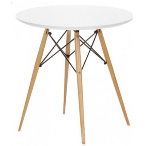 Стол обеденный AT-017 70см белый Kordo