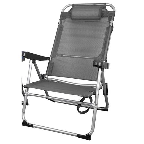 Кресло раскладное GP20022006 серый Thexata