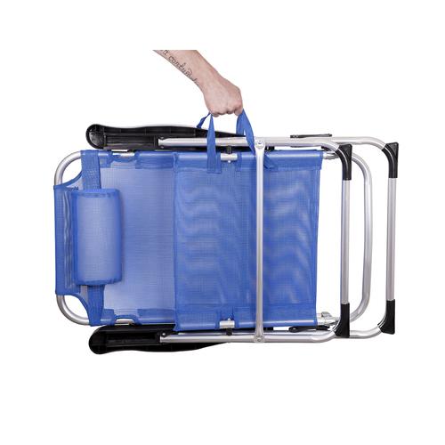 Кресло раскладное GP20022006 голубой Thexata