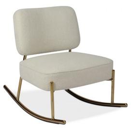 Кресло качалка Уго белый Verde 2020