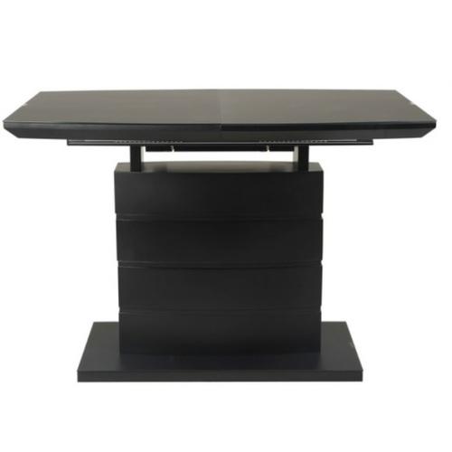 Стол обеденный раскладной TMM-50-2 черный Verde 2020