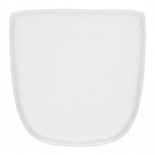 Подушка для стула Tolix белый кожзам на магнитах
