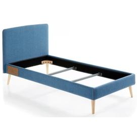 Кровать LYDIA 90x190см D037VA25 синий Laforma