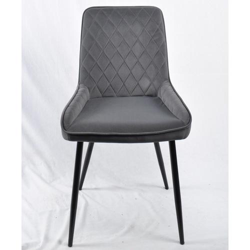 Кресло STAN 11575 серый велюр Thexata Rudens