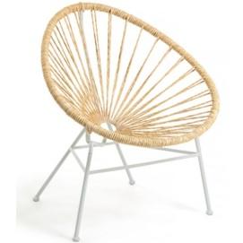 Кресло Samantha CC1314S12 бежевый Laforma
