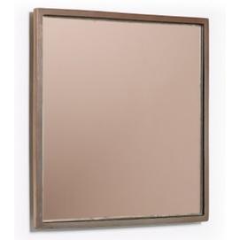 Зеркало Mecata 25х25 см AA4888R54 коричневый Laforma