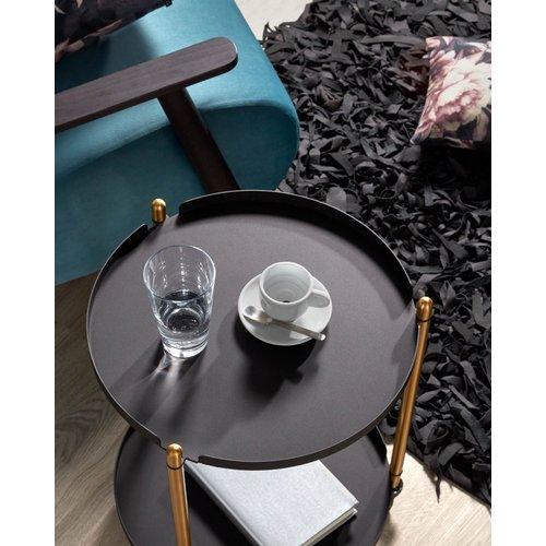 Стол сервировочный Maj CC1297R01 черный Laforma