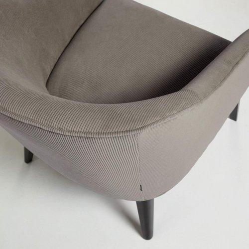 Кресло LOBBY S480PN15 серый велюр Laforma