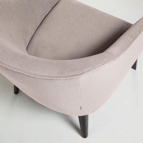 Кресло LOBBY S480PN24 розовый велюр Laforma