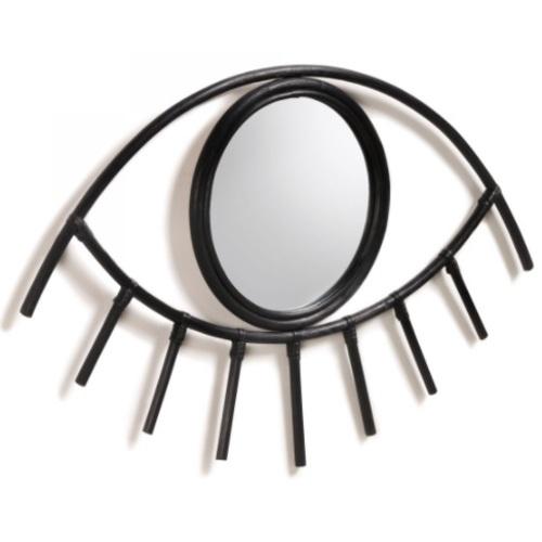 Зеркало Maela 72х45 см AA5076FN01 черный Laforma