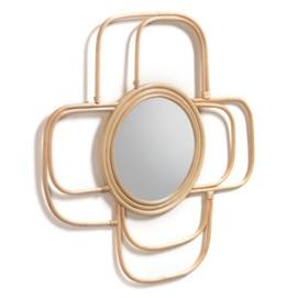 Зеркало Maeve 60х60 см AA5087FN46 бежевый Laforma 2020