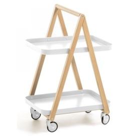 Стол сервировочный Kunti AA4494R05 белый Laforma