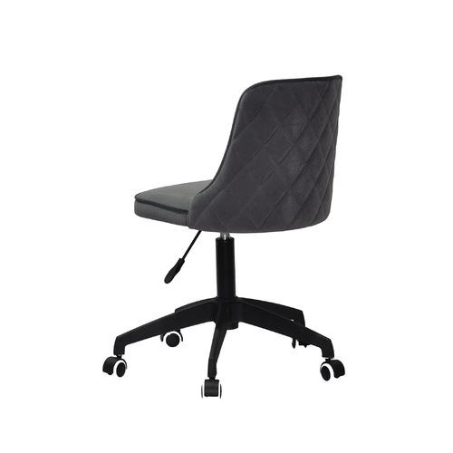 Стул офисный ADAM BK - Modern Office 11918 серый велюр Thexata Summer