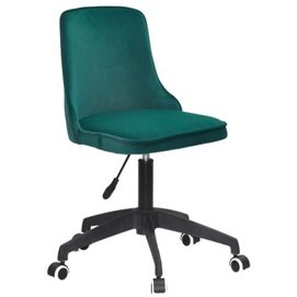 Стул офисный ADAM BK - Modern Office 11917 зеленый велюр Thexata Summer