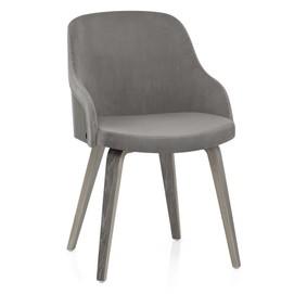 Кресло Fusion серый велюр Primel 2020