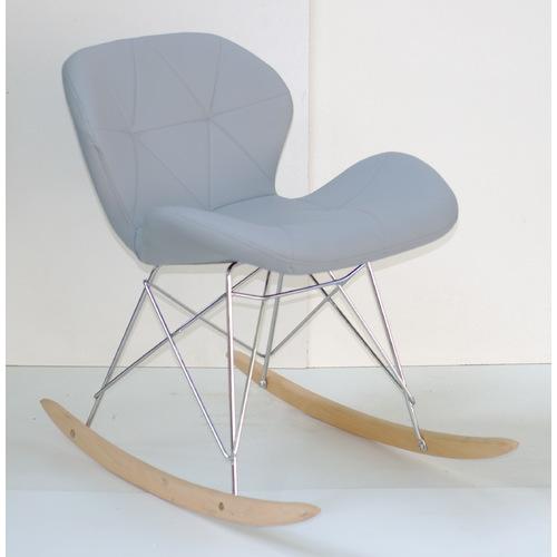 Кресло качалка Invar 9348 серый Thexata 2020