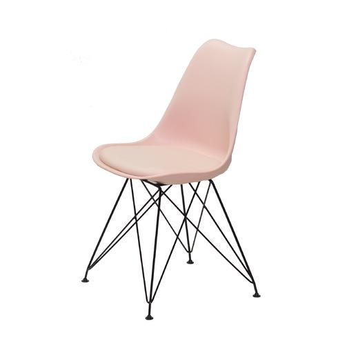 Стул Milan BK - ML 11229 розовый Thexata 2020