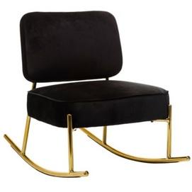 Кресло качалка Уго черный Verde