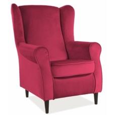 Кресло Baron Velvet розовый 59 Signal 2020