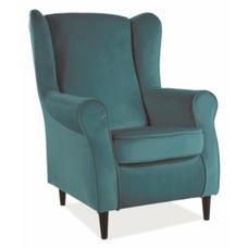 Кресло Baron Velvet бирюзовый 85 Signal 2020