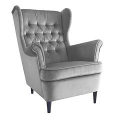 Кресло Harry Velvet серый 14 Signal