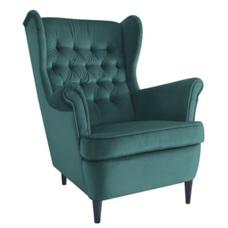 Кресло Harry Velvet зеленый 78 Signal