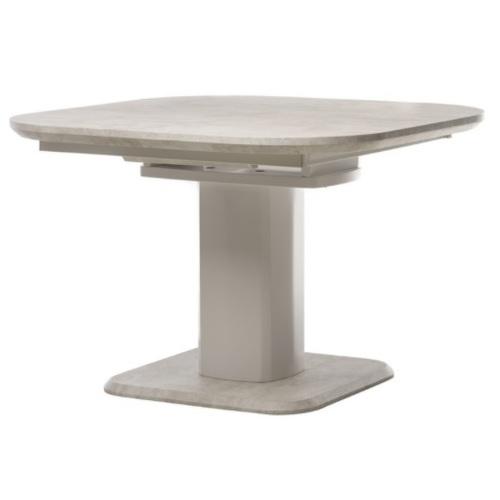Стол обеденный раскладной TML- 570 айвори белый Verde