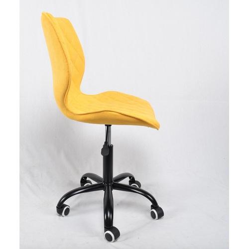 Стул офисный Toni 12046 желтая ткань Thexata Rudens